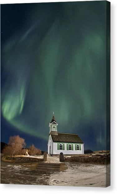 The Spirit Of Iceland Canvas Print