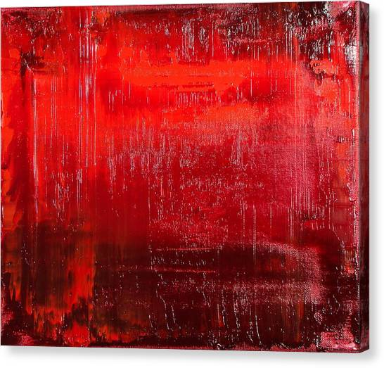 Gerhard Richter Canvas Print - The Spirit Of Lust by Daniel Johnstone
