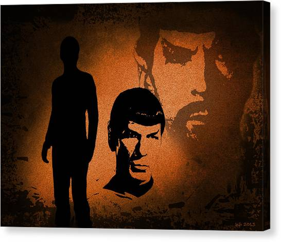 The Spocks Canvas Print