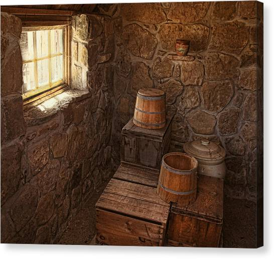 The Spring House Canvas Print by Pat Abbott
