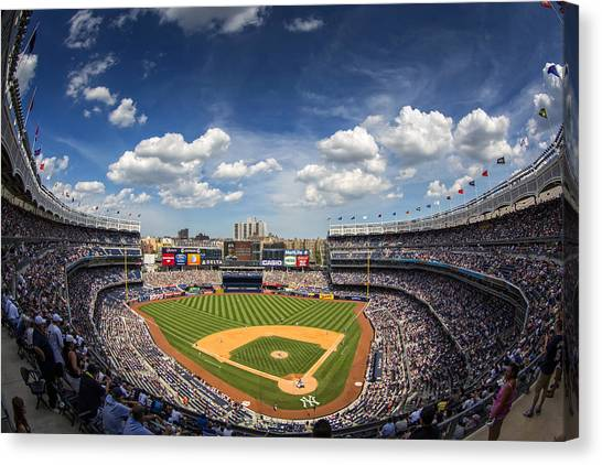 The Stadium Canvas Print