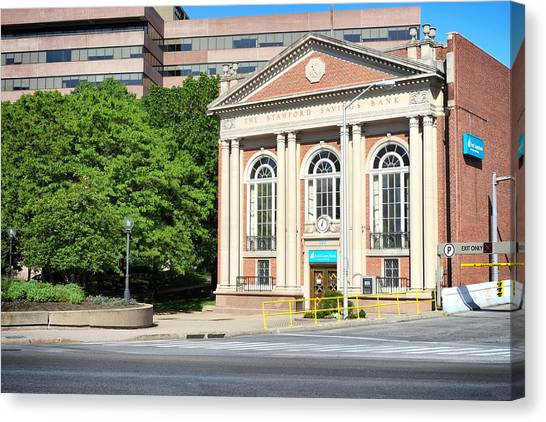 The Stamford Savings Bank Canvas Print