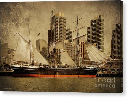 The Star Of India 1863 Canvas Print