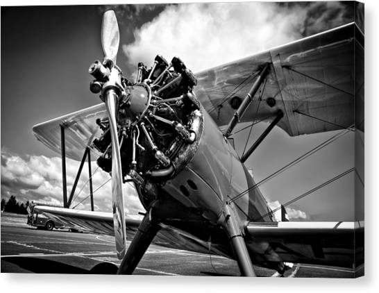 The Stearman Biplane Canvas Print