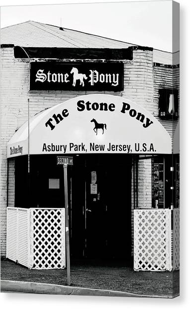 The Stone Pony Asbury Park Nj Canvas Print