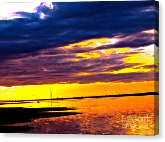 The Storm  Canvas Print by Q's House of Art ArtandFinePhotography