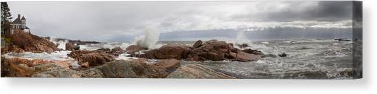 The Stormy Sea Canvas Print