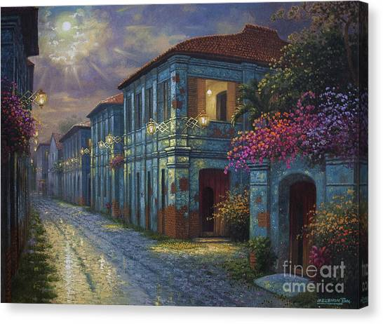 The Street We Used To Know Canvas Print