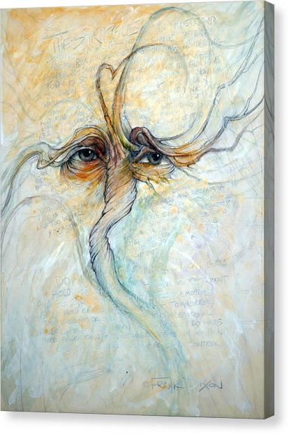 Imaginative Canvas Print - The Struggle by Frank Robert Dixon