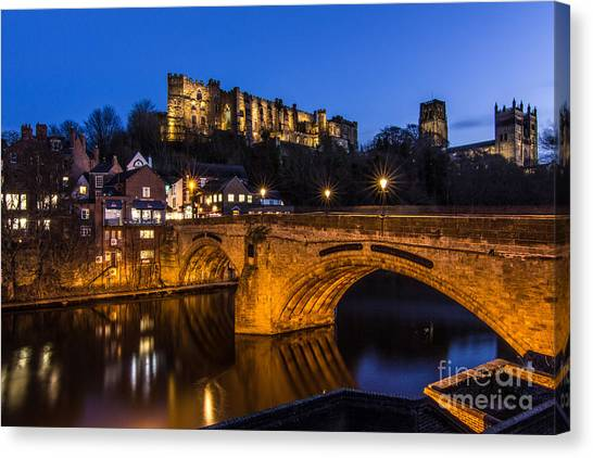 The Stunning City Of Durham In Northern England Canvas Print