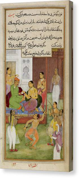 Baghdad Canvas Print - The Sultan Of Baghdad by British Library