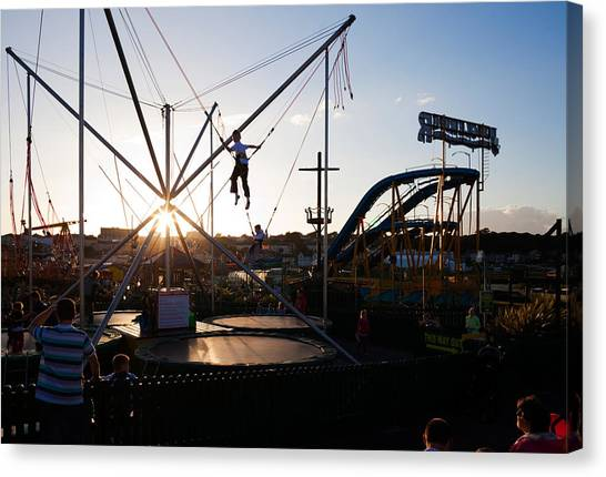 Waterford Canvas Print - The Summer Fairground, Tramore, County by Panoramic Images