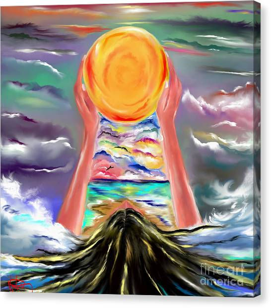The Sun Will Shine Again Canvas Print