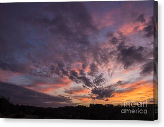 The Sunsets Glow Canvas Print