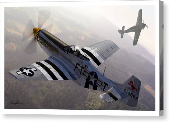 Luftwaffe Canvas Print - The Sweede Steed by Hangar B Productions