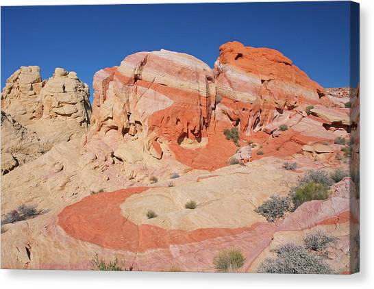 The Swoosh At The Valley Of Fire Canvas Print