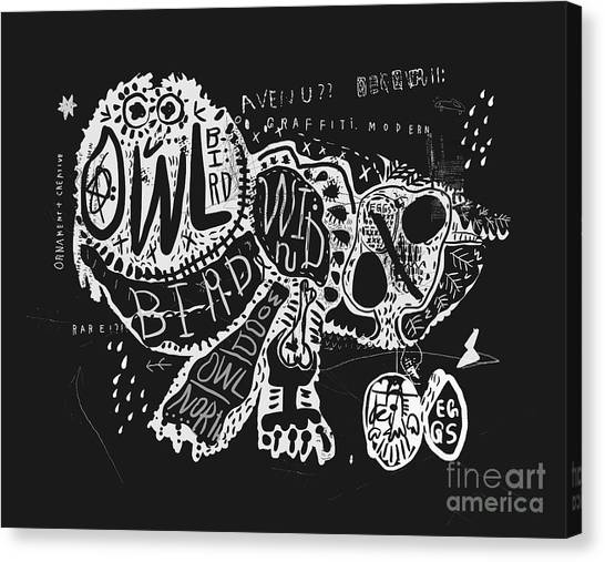 Decoration Canvas Print - The Symbolic Image Of The Owl, Which by Dmitriip