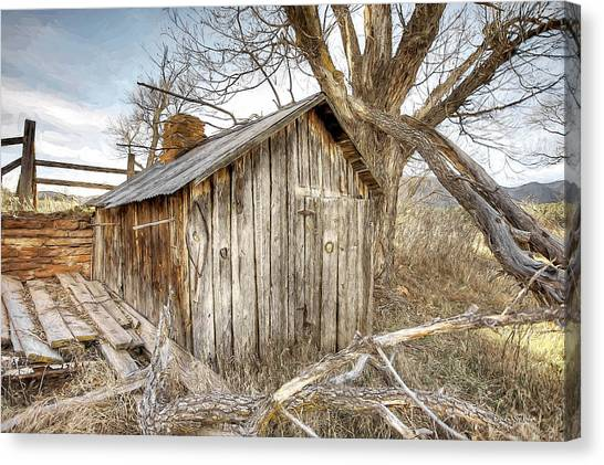 The Tack Shed Canvas Print