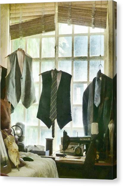 The Tailor Shop Canvas Print