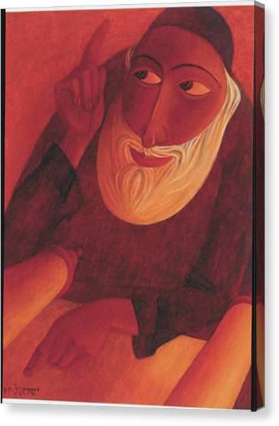 The Talmudist Canvas Print