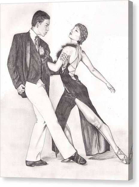 The Tango Canvas Print by Beverly Marshall