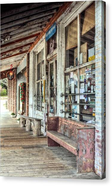 Catfish Canvas Print - The Taylor Grocery by JC Findley