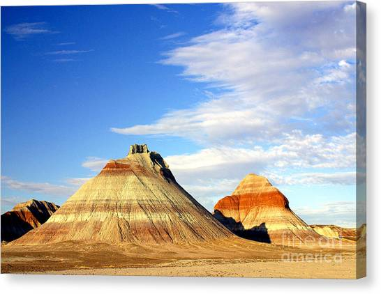 The Teepees Canvas Print by Douglas Taylor