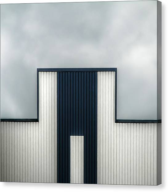Tetris Canvas Print - The Tetris Factory by Gilbert Claes