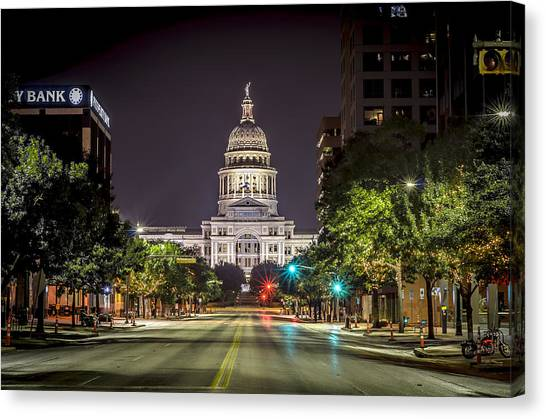 The Texas Capitol Building Canvas Print
