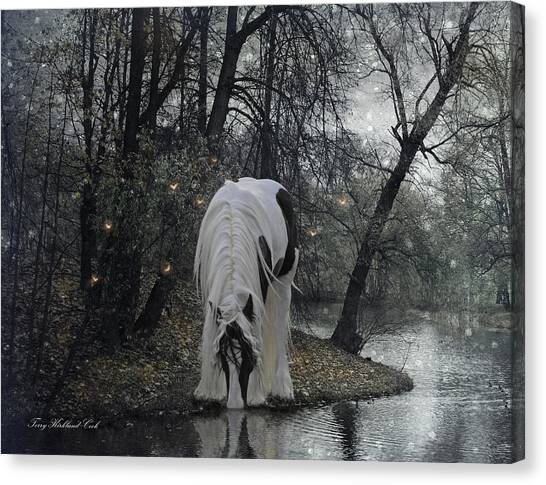 The Thirst Canvas Print