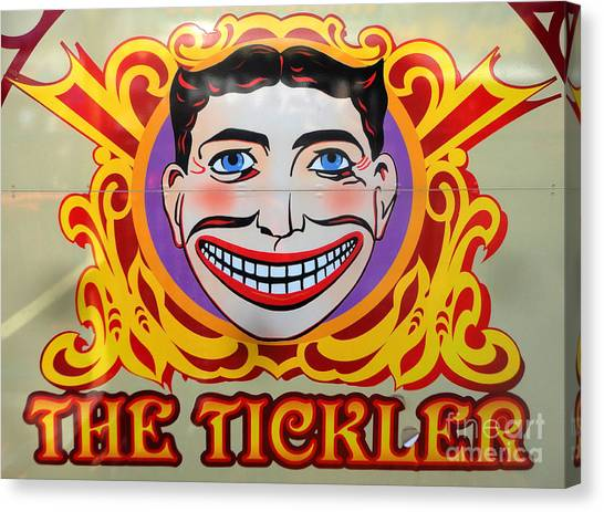 The Tickler Of Coney Island Canvas Print