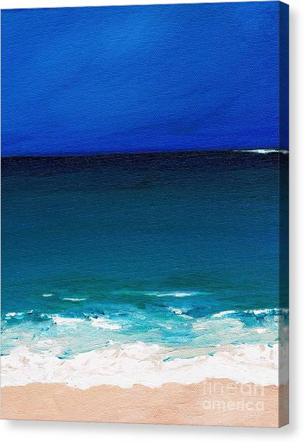 The Tide Coming In Canvas Print