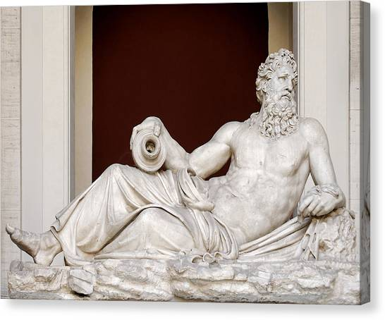 The Vatican Museum Canvas Print - The Tigris by Ellen Henneke