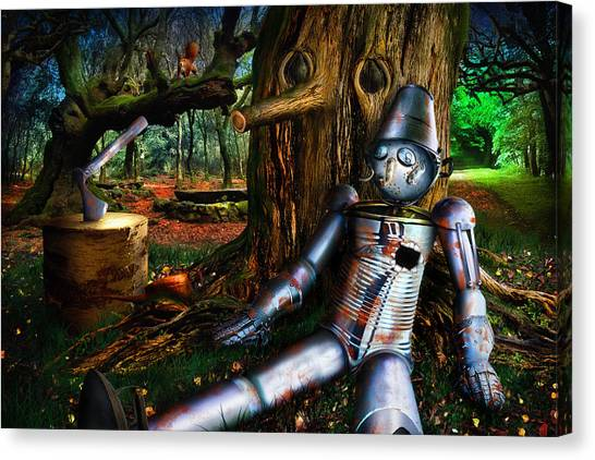 The Tin Woodman Canvas Print