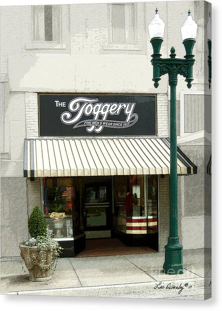The Toggery Canvas Print