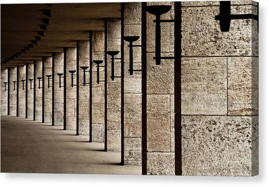Berlin Canvas Print - The Torches by Karl-axel Lindbergh