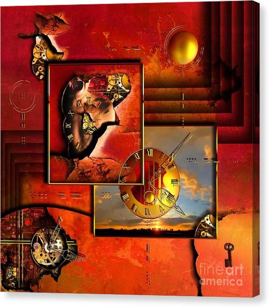 Clockwork Orange Canvas Print - The Tortures Never Stop by Franziskus Pfleghart