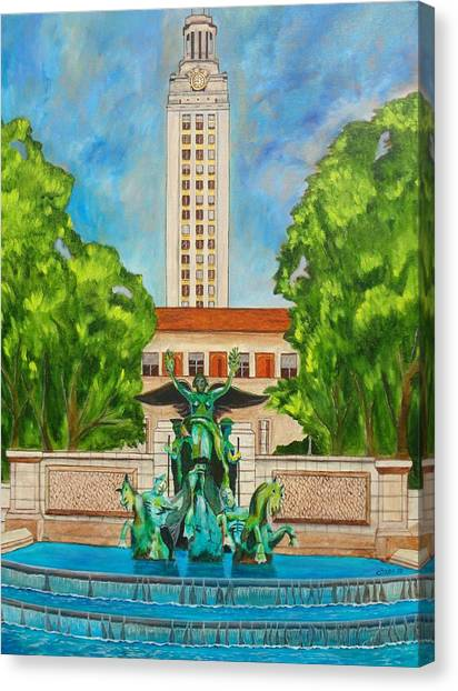 The Tower - Austin Texas Canvas Print