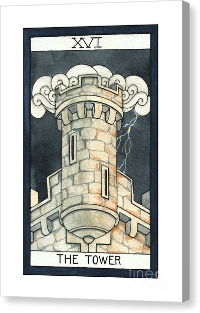 The Tower Canvas Print by Nora Blansett