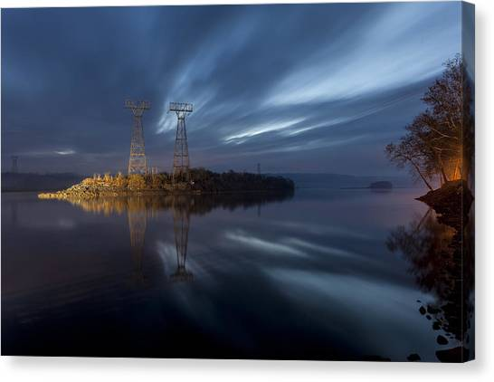 The Towers Of Power Canvas Print