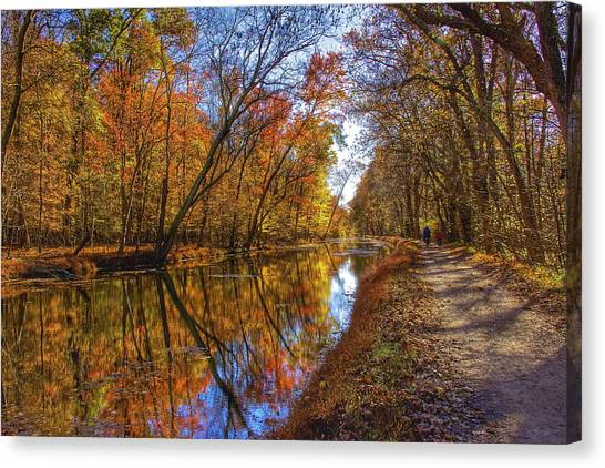 The Towpath Canvas Print by Kathi Isserman