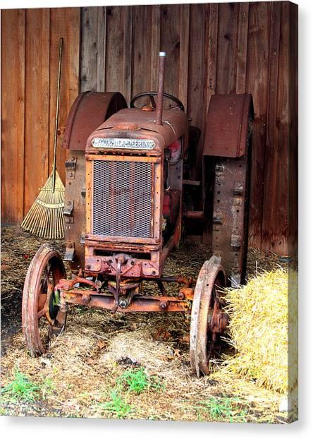The Tractor Canvas Print by John Freidenberg