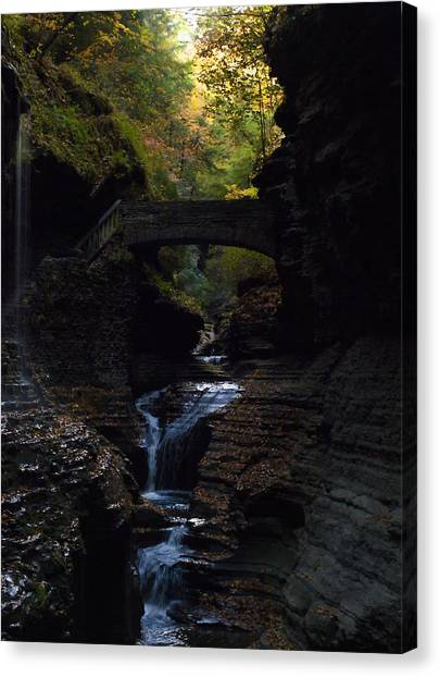 The Trail To Rivendell Canvas Print
