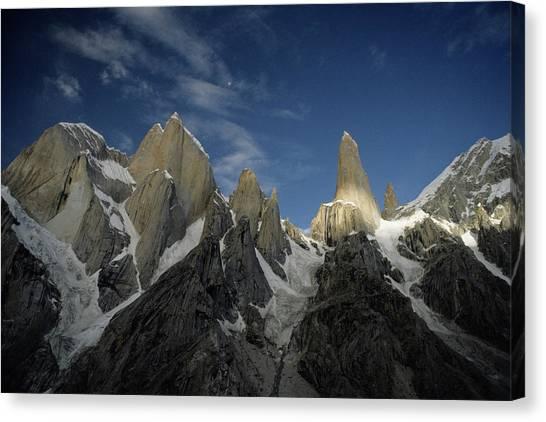 Trango Towers Canvas Print - The Trango Towers, Karakoram Mountains by Ace Kvale