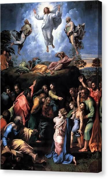 The Vatican Museum Canvas Print - The Transfiguration by Raffaello Sanzio