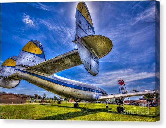 Prop Planes Canvas Print - The Transatlantic Queen by Marvin Spates