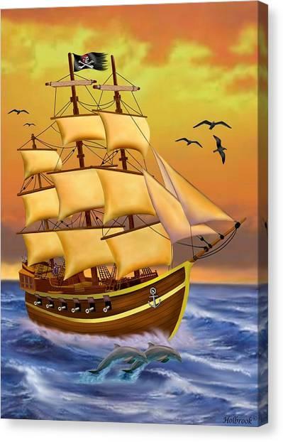 The Treasure Hunter Canvas Print