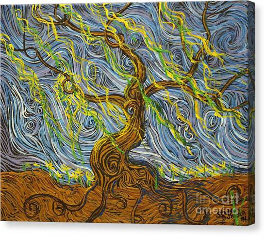The Tree Have Eyes Canvas Print