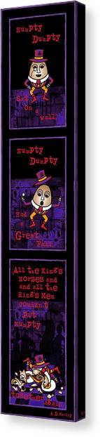 The Truth About Humpty Dumpty Canvas Print