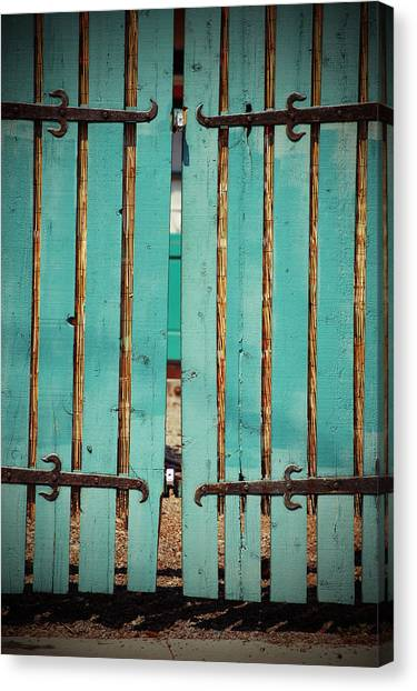 The Turquoise Gate Canvas Print